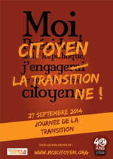 27 septembre 2014 : La journée de la transition